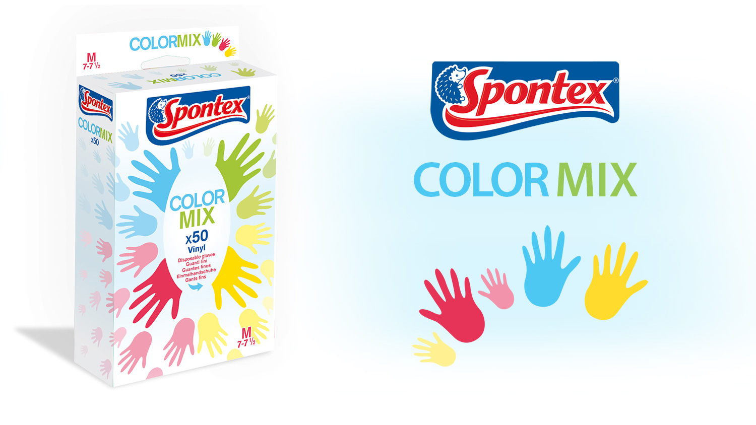 Spontex Color Mix